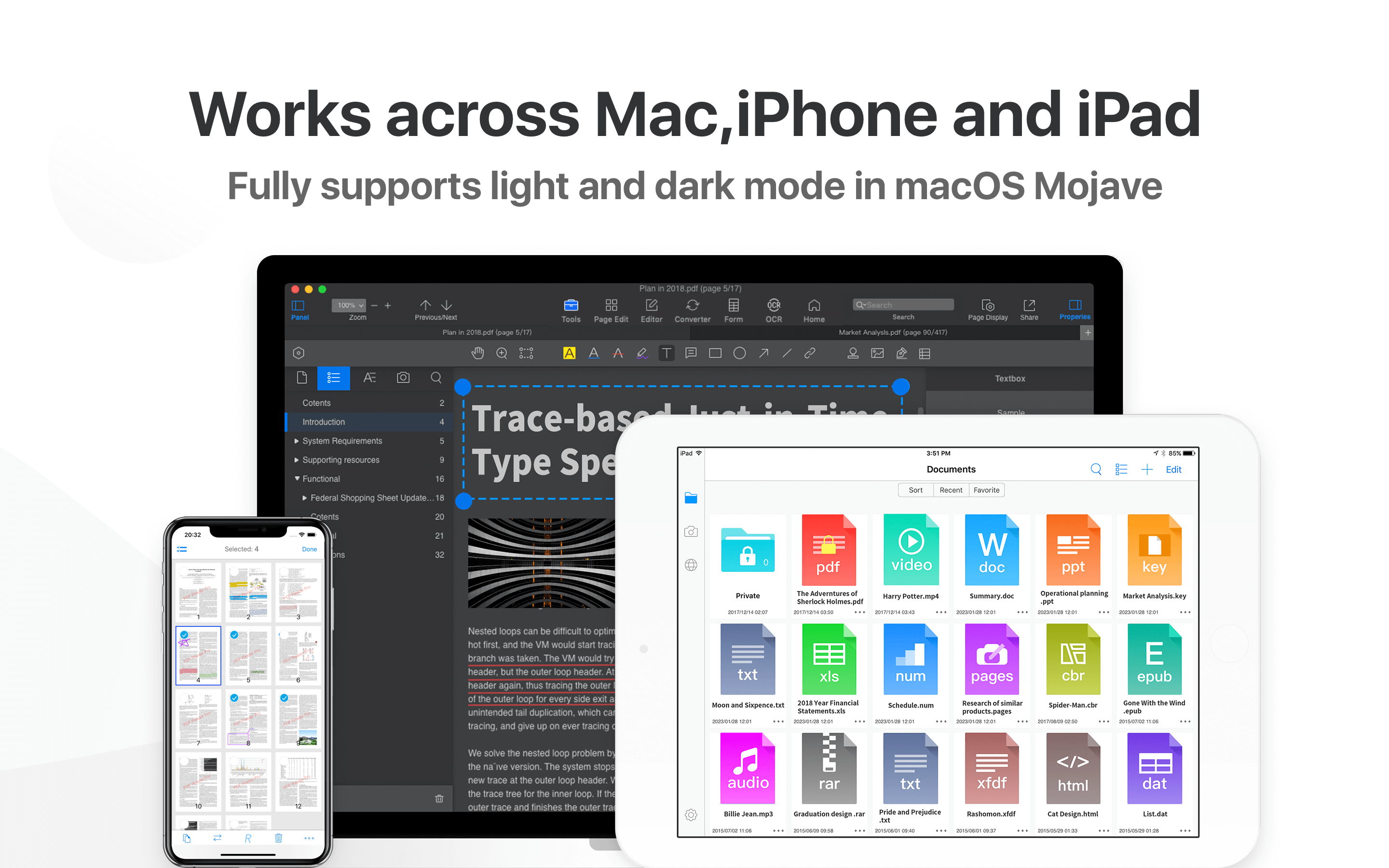 PDF Reader PRO - For iOS Devices - Mac, iPhone & iPad