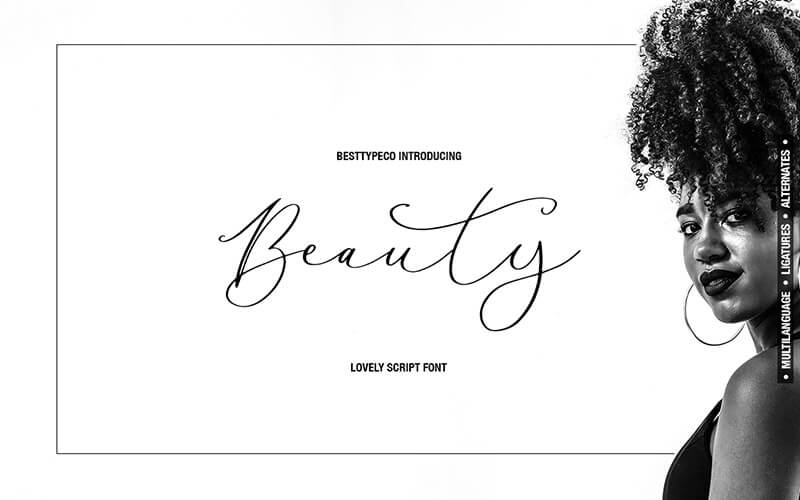 51 Elegant & Creative Fonts From The Amazing Fonts Bundle - Beauty