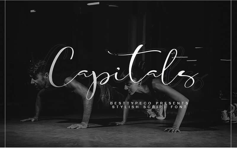 51 Elegant & Creative Fonts From The Amazing Fonts Bundle - Capitals