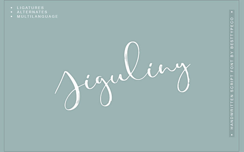 51 Elegant & Creative Fonts From The Amazing Fonts Bundle - Fresh- Jiguliny