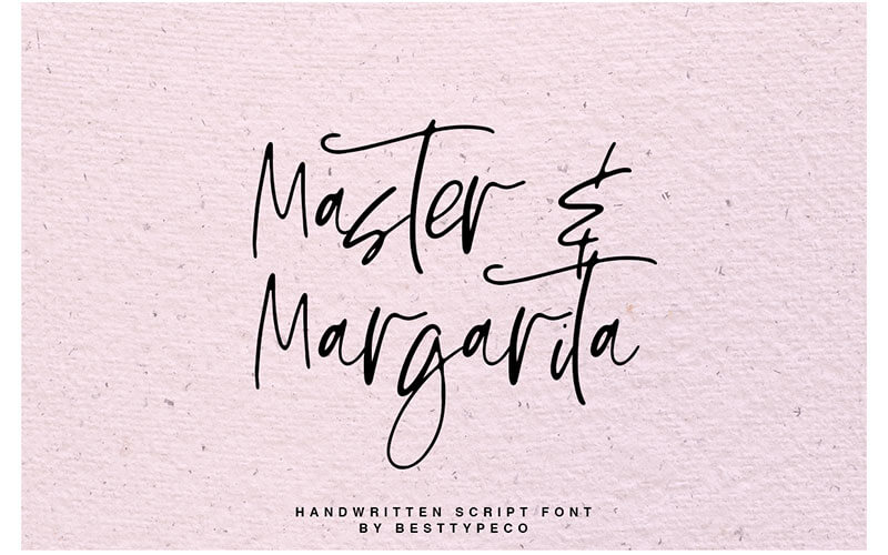 51 Elegant & Creative Fonts From The Amazing Fonts Bundle -MasterMargarita