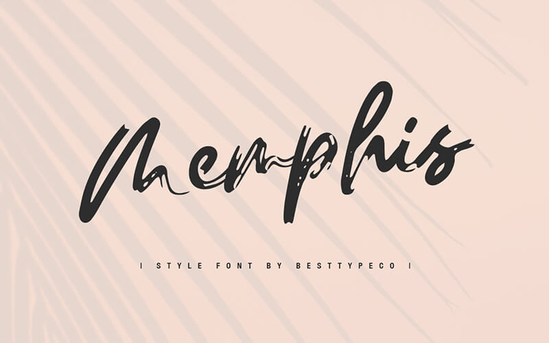 51 Elegant & Creative Fonts From The Amazing Fonts Bundle - Memphis-style