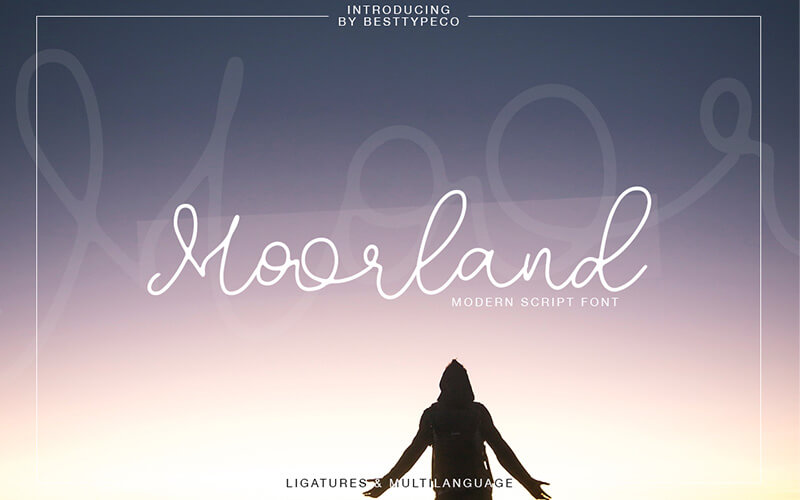 51 Elegant & Creative Fonts From The Amazing Fonts Bundle - Moorland