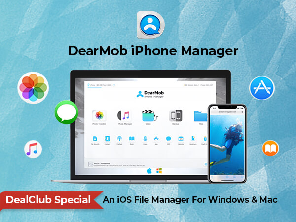 DearMob iPhone Manager For Windows & Mac