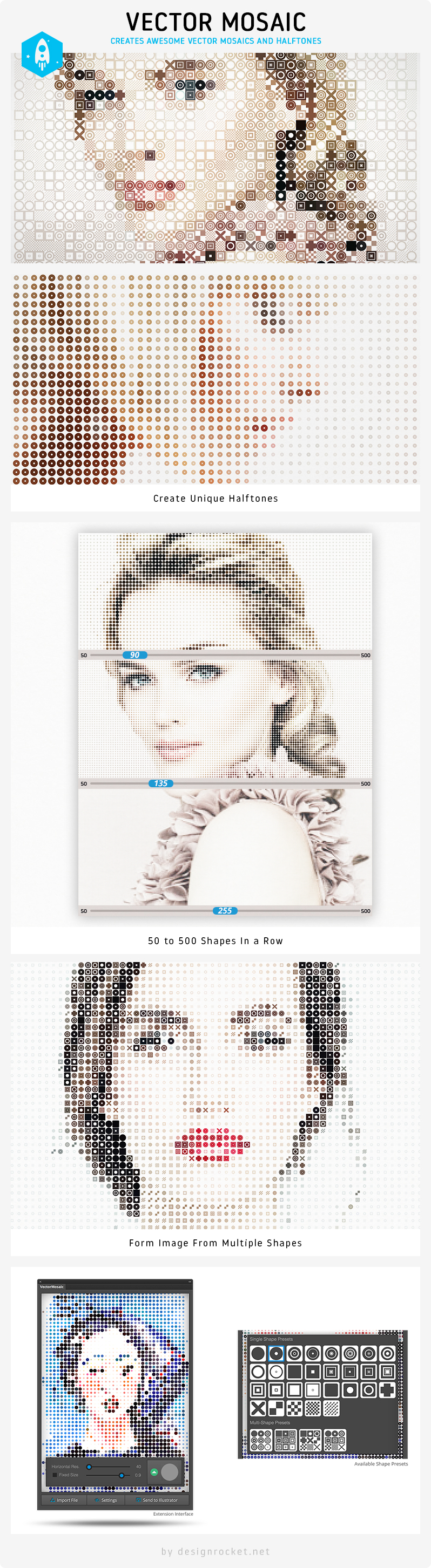 Photo Effects Pack - Vector Mosaic