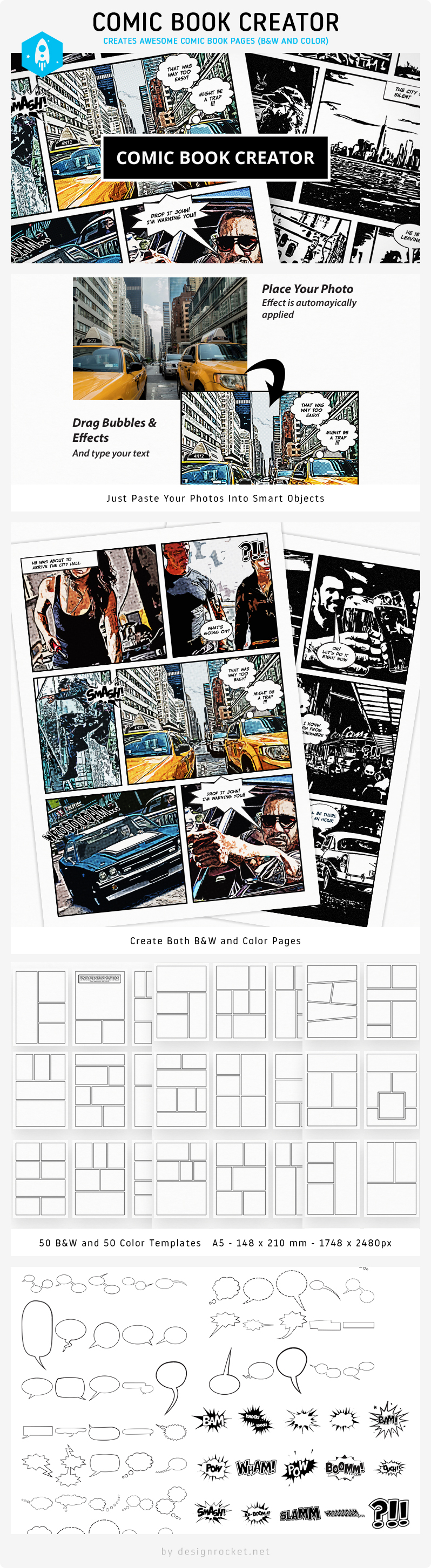 Photo Effects Pack - Comic Book Creator