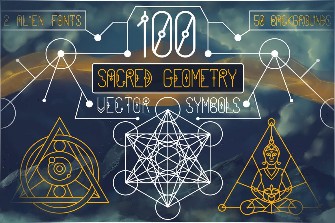 Bundle Of Mandala Ornaments - 1_SacredGeometrySymbols_painting