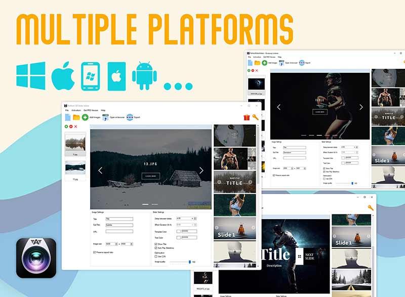 CSS Image Slider Maker- Multiple platforms