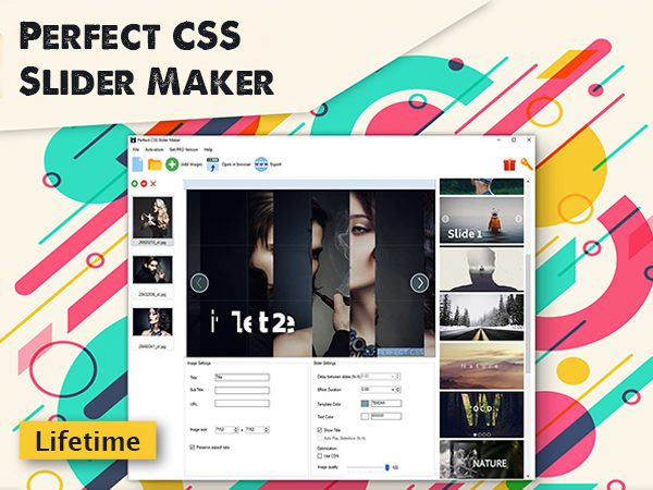 CSS Image Slider Maker - Perfect CSSSlider Maker