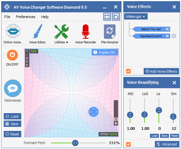 Best Voice Changer Software - Main Panel