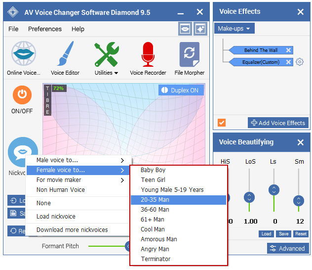 Best Voice Changer Software - Nickvoice