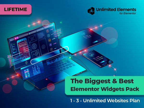 Unlimited Elements - The Best & Biggest Elementor Widgets Pack