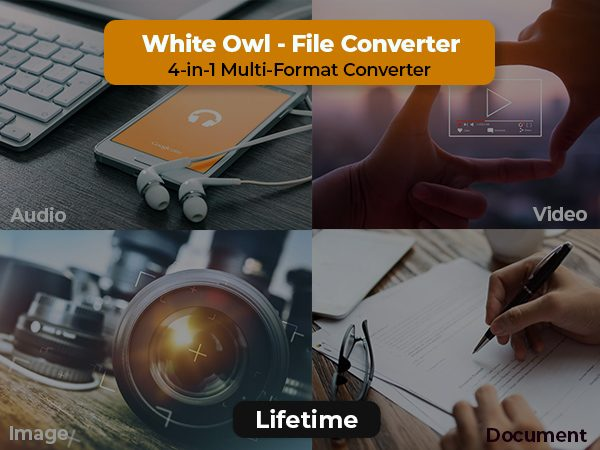 A 4-in-1 Multi-Format File Converter For Windows [LIFETIME]