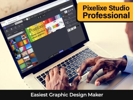 Pixelixe Studio Professional - The Easiest Graphic Design Maker | LIFETIME