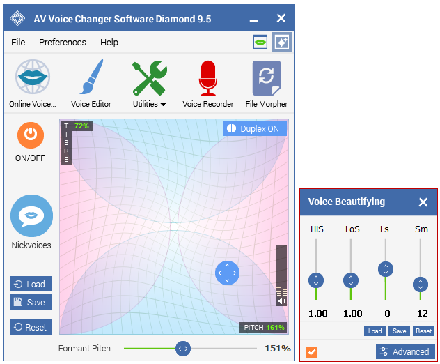 Best Voice Changer Software - Voice Beautifying