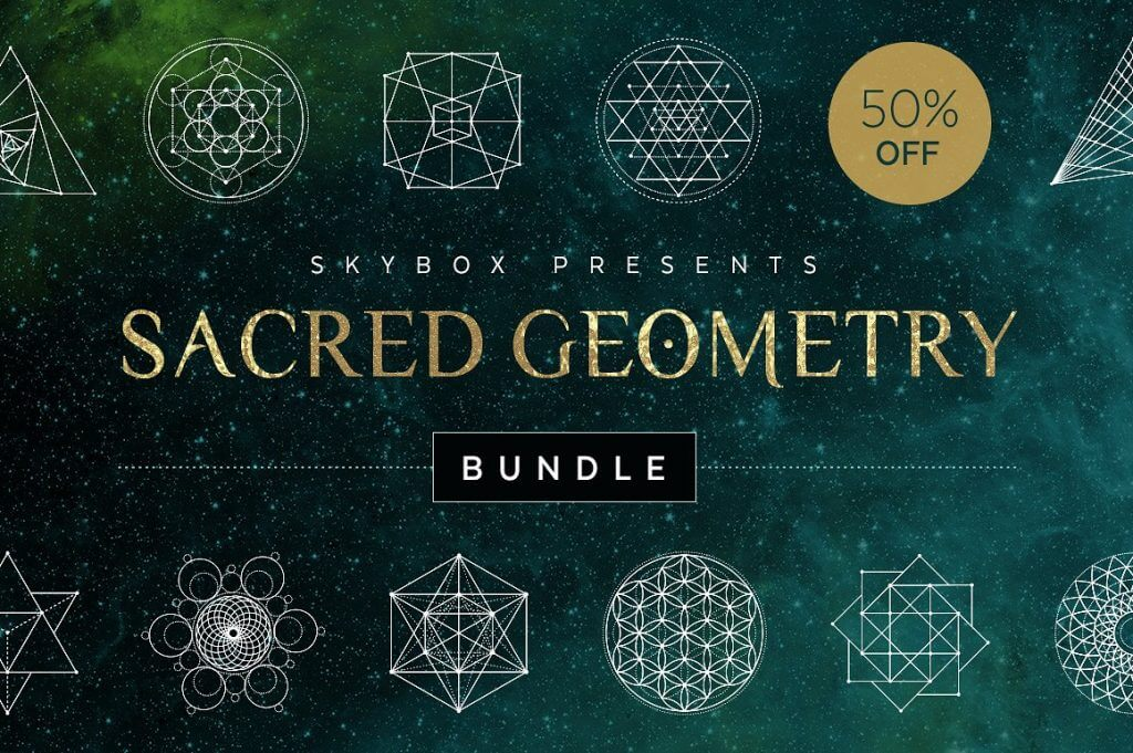 Creative Graphic Design - Cosmic Bundle: Sacred Geometry - 1