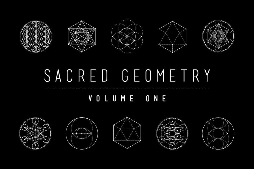 Creative Graphic Design - Cosmic Bundle: Sacred Geometry - 14