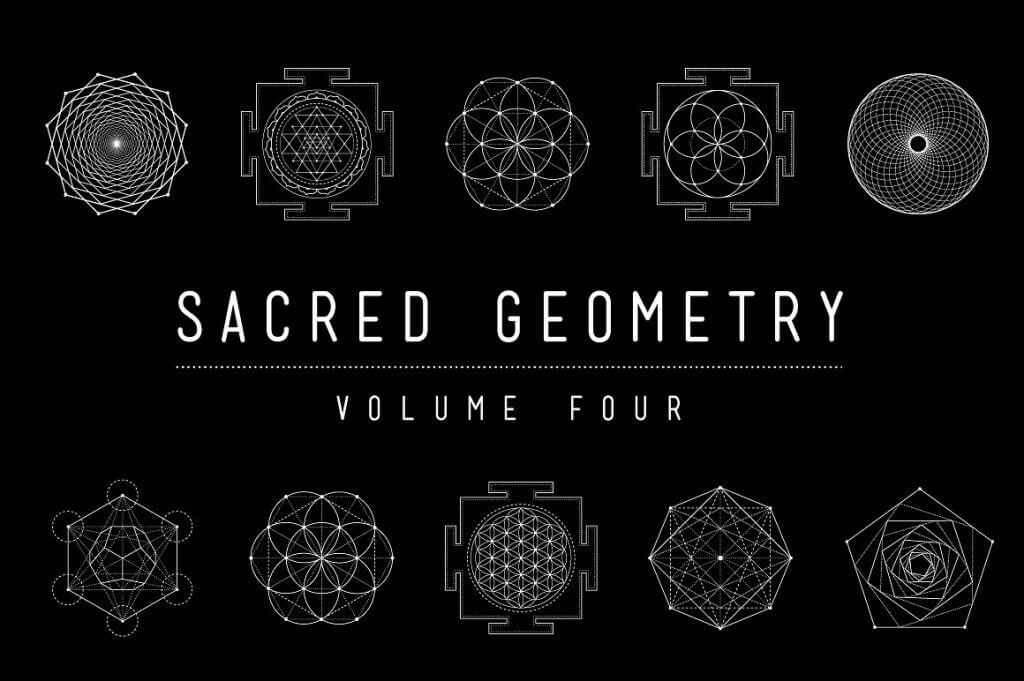 Creative Graphic Design - Cosmic Bundle: Sacred Geometry - 19