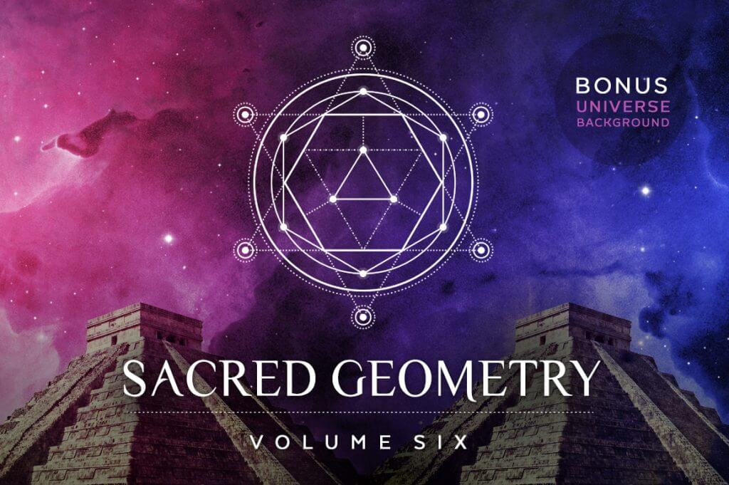 Creative Graphic Design - Cosmic Bundle: Sacred Geometry - 111