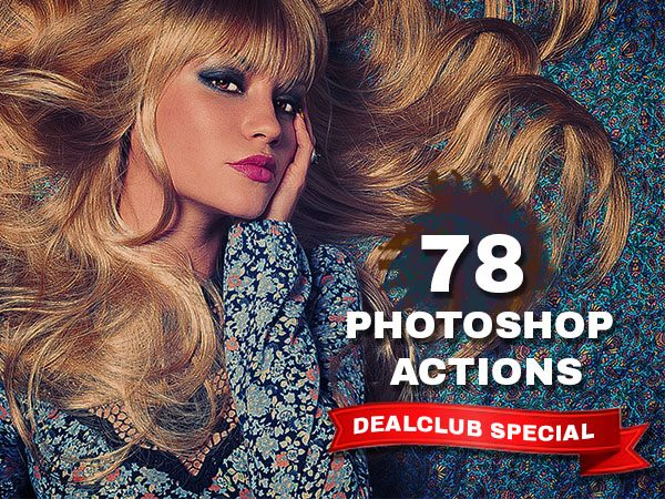 Bundle of 78 PS Actions For Commercial Use