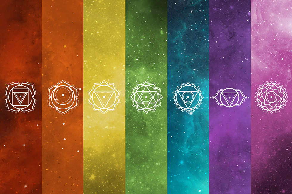 Creative Graphic Design - Cosmic Bundle: Chakra Symbols - 5