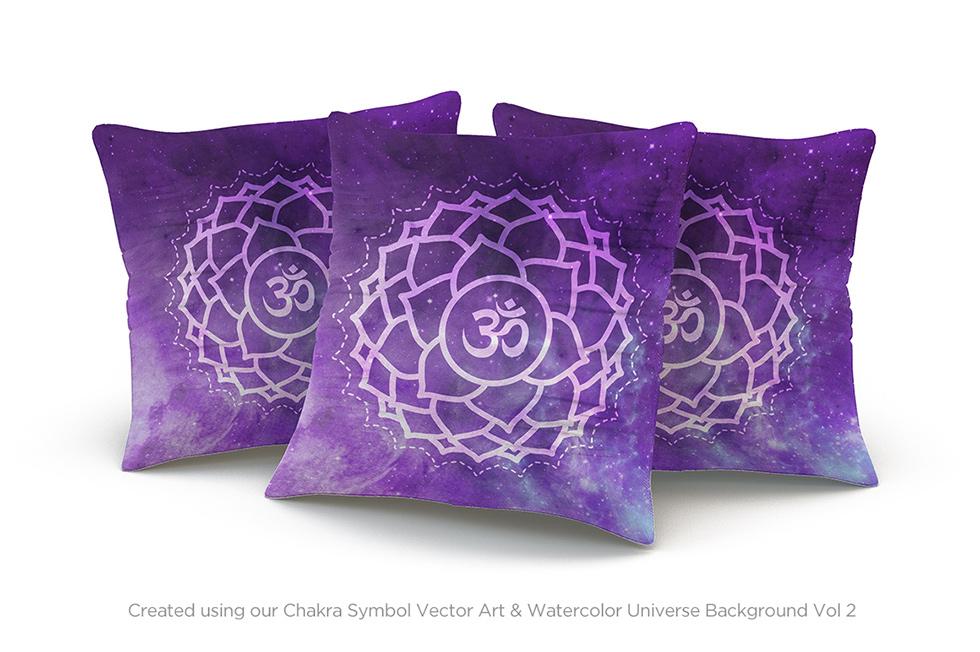 Creative Graphic Design - Cosmic Bundle: Chakra Symbols - 6