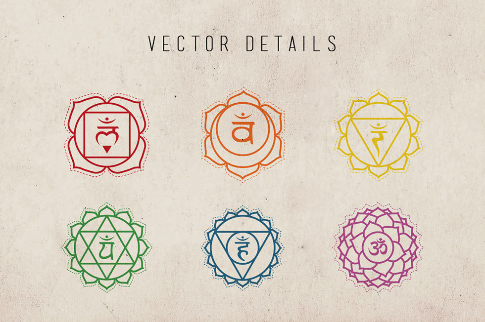 Creative Graphic Design - Cosmic Bundle: Chakra Symbols - 3