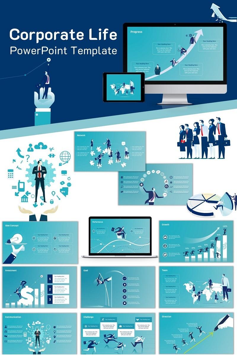 900+ Unique Powerpoint Presentation Templates - Corporate Life