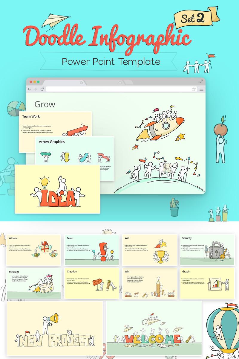 900+ Unique Powerpoint Presentation Templates - Doodle Infographic