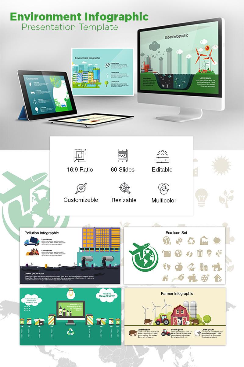 900+ Unique Powerpoint Presentation Templates - Environment Infographic