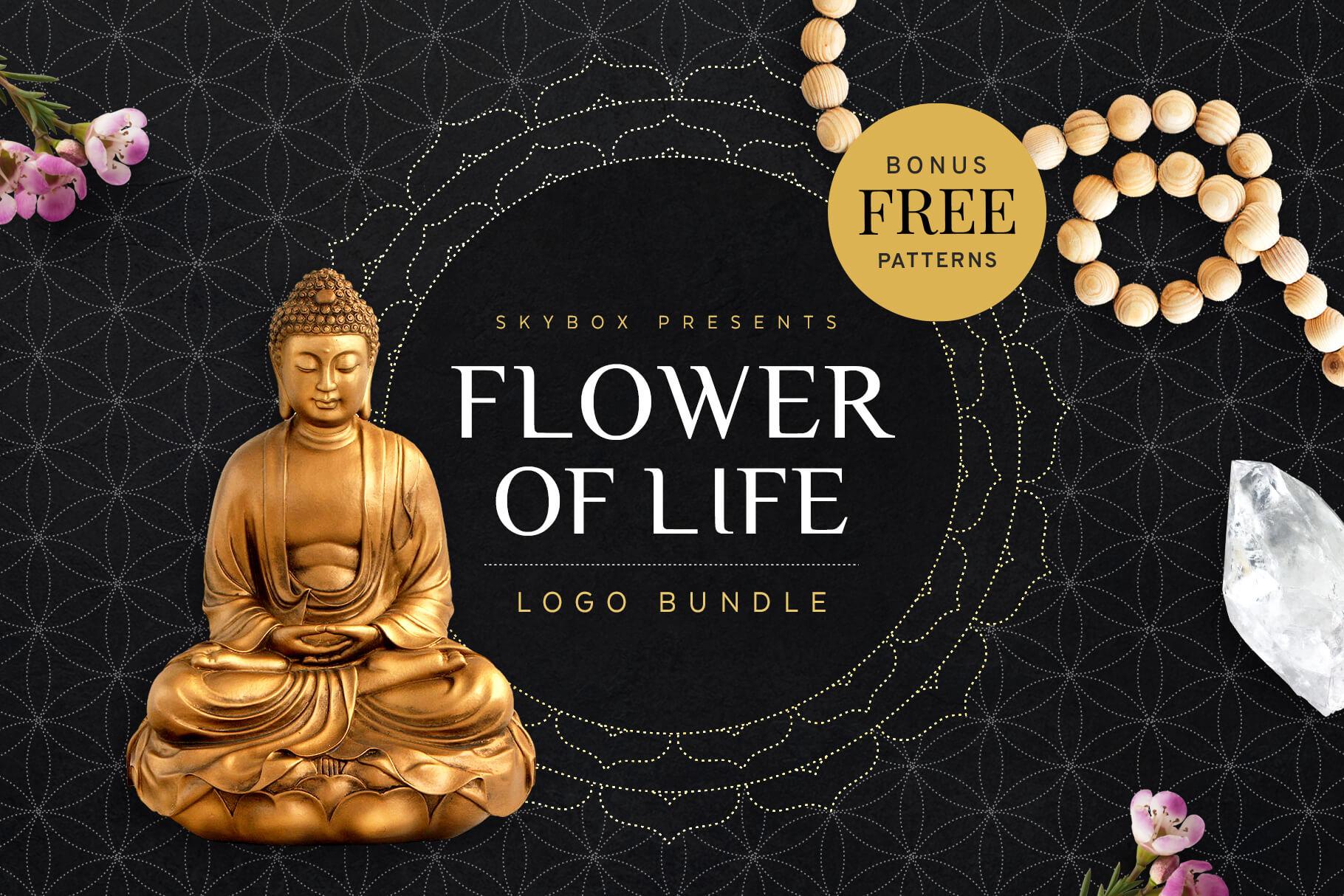 Creative Graphic Design - Cosmic Bundle: Flower Of Life 1
