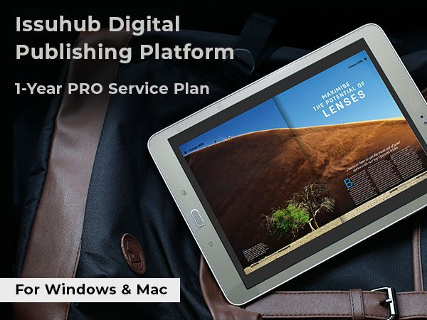Issuhub Digital Publishing Platform For Windows & Mac [1-Year Pro Service Plan]