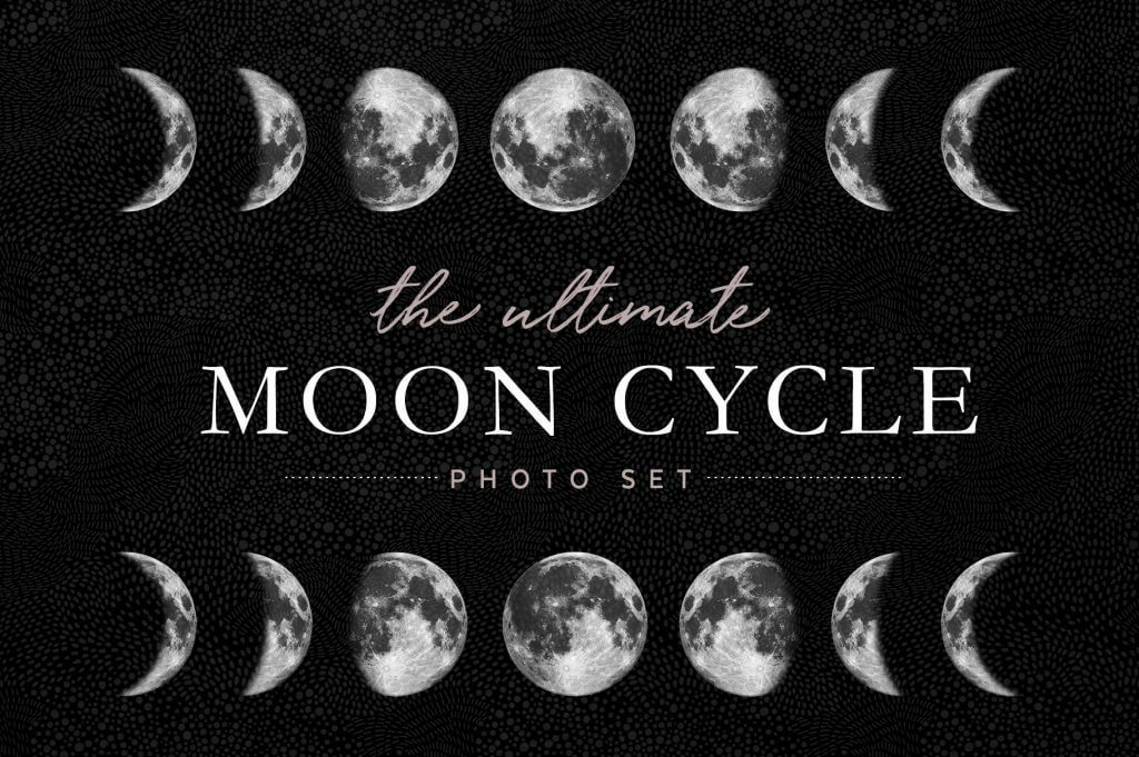 Creative Graphic Design - Cosmic Bundle: Moon Cycle - 4