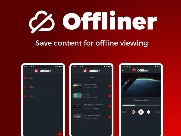 App for Offline Content Viewing