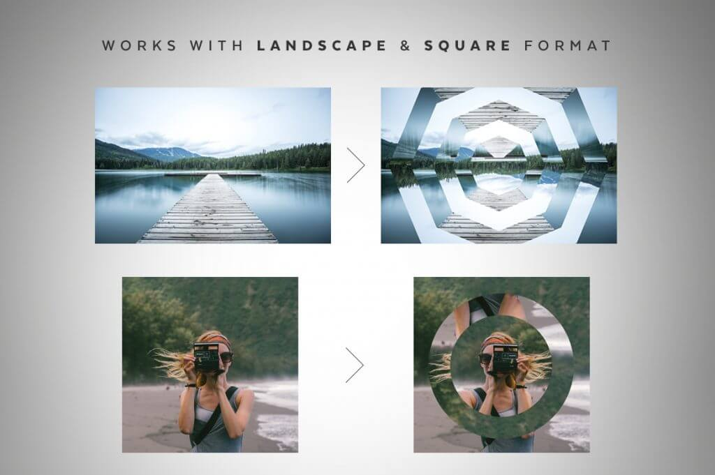 Creative Graphic Design - Cosmic Bundle: Geometric Portals - 3
