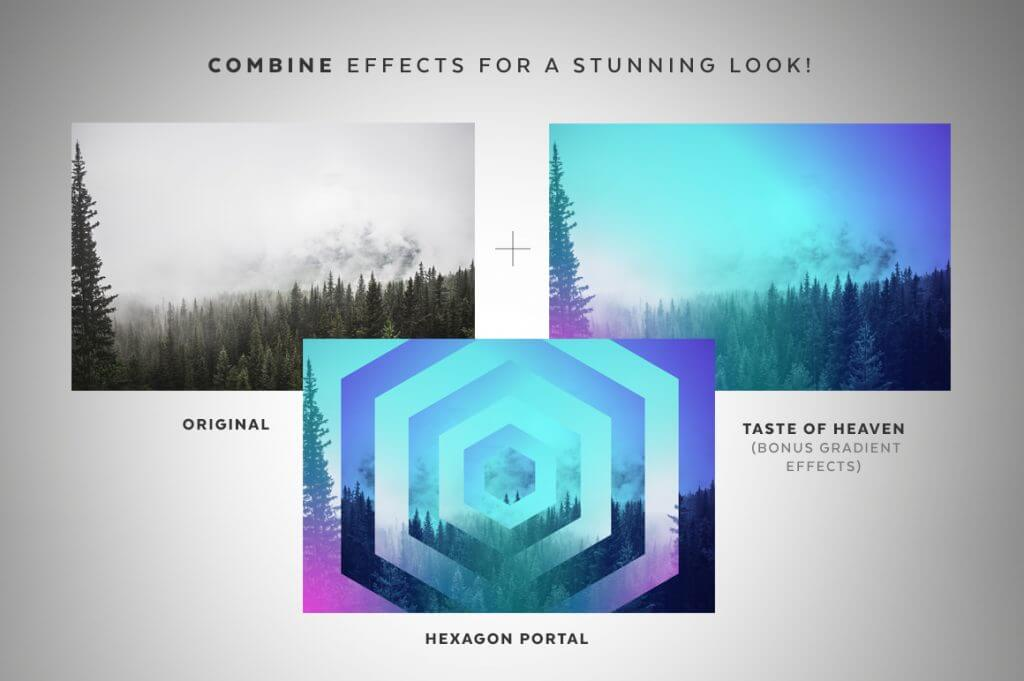 Creative Graphic Design - Cosmic Bundle: Geometric Portals - 2