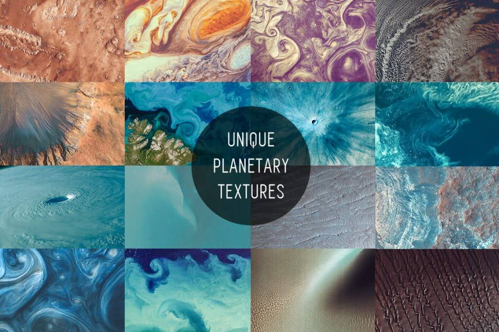 Creative Graphic Design - Cosmic Bundle: Satellite Textures - 2