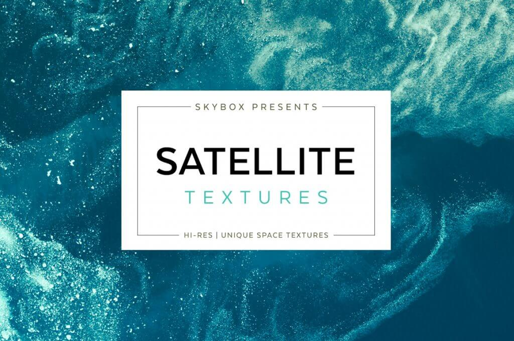 Creative Graphic Design - Cosmic Bundle: Satellite Textures - 1