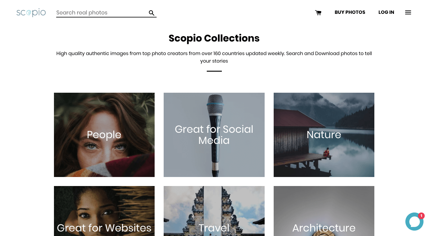 Scopio Royalty Free Photos Subscription - Collection