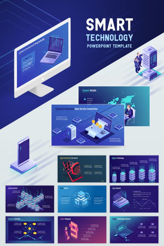 900+ Unique Powerpoint Presentation Templates - Smart Technology