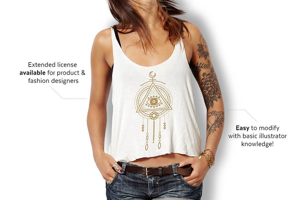 Creative Graphic Design - Cosmic Bundle: Tribal Shaman - 5