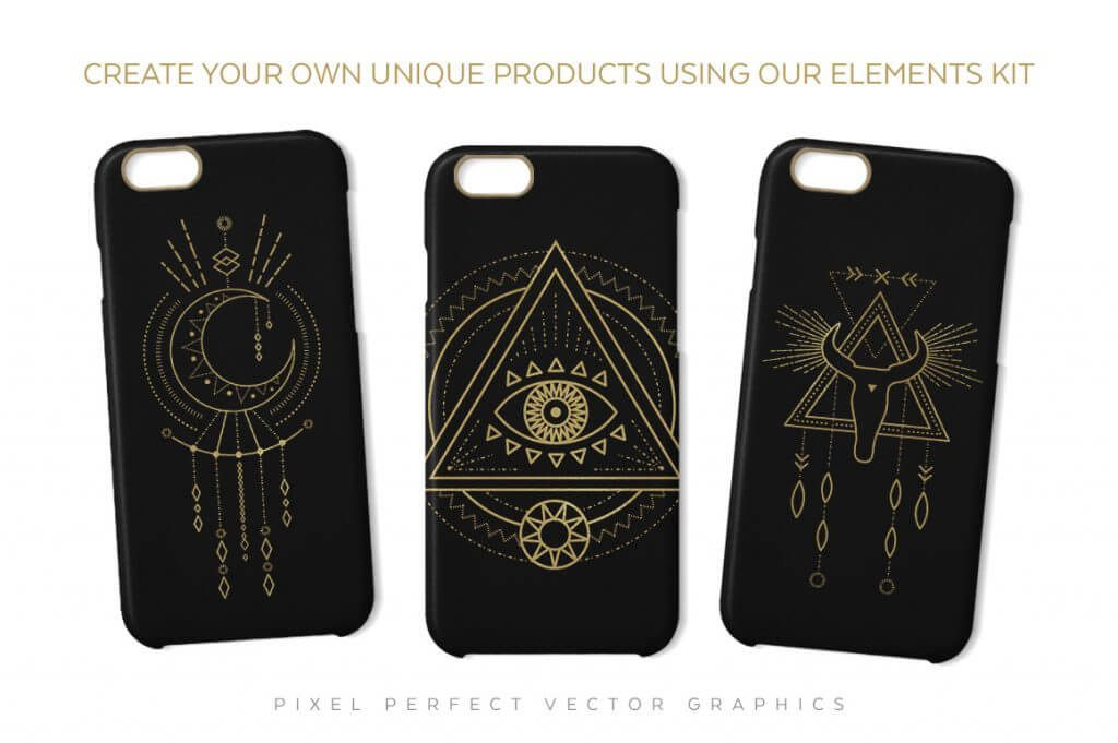 Creative Graphic Design - Cosmic Bundle: Tribal Shaman - 6