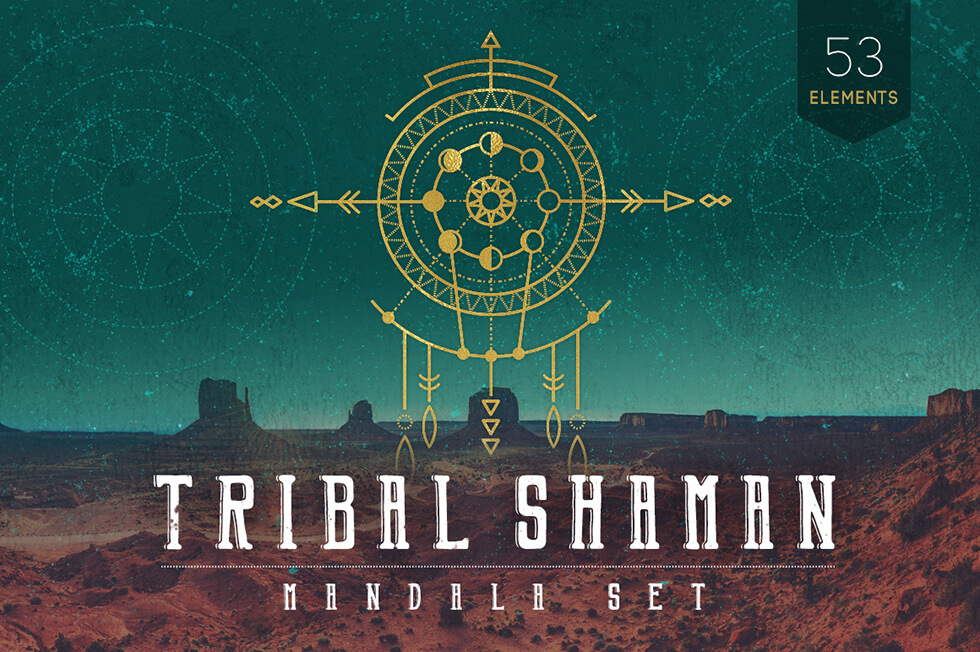 Creative Graphic Design - Cosmic Bundle: Tribal Shaman - 1