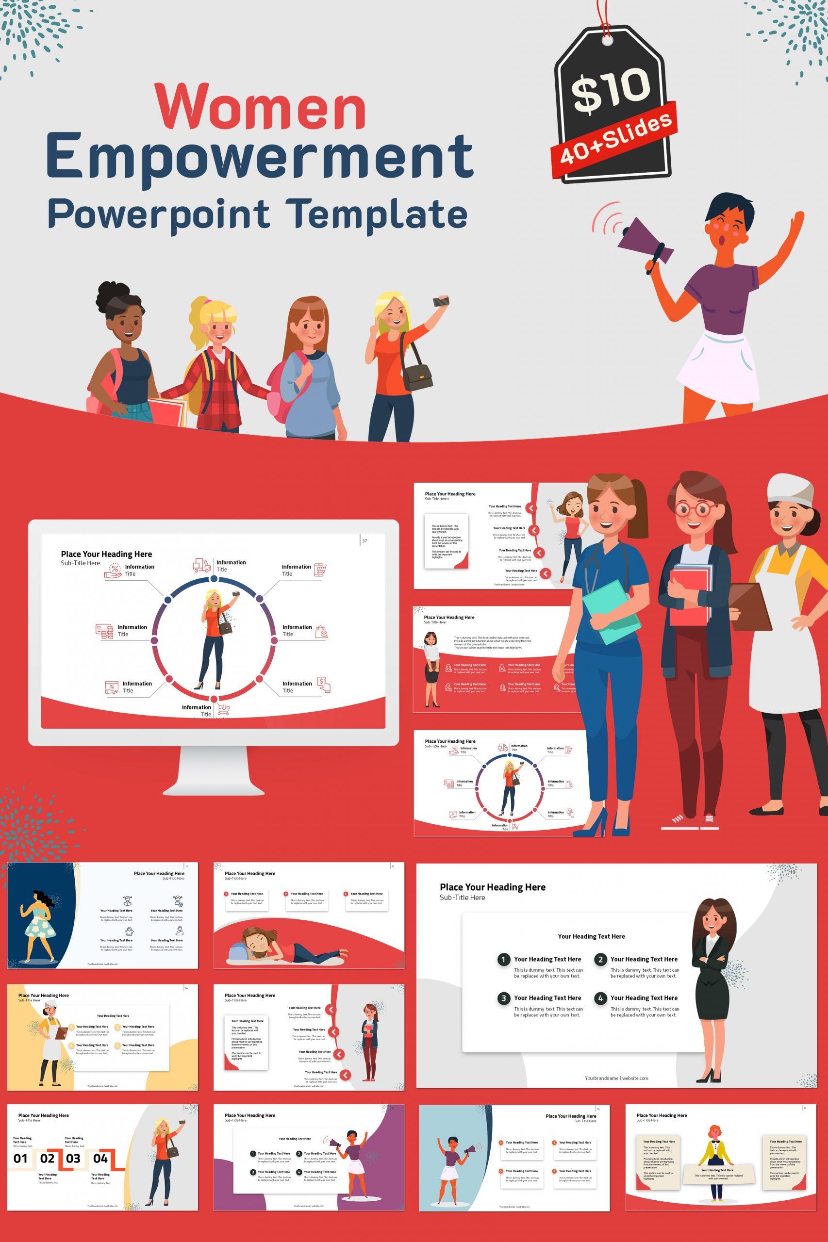 900+ Unique Powerpoint Presentation Templates - Women Empowerment