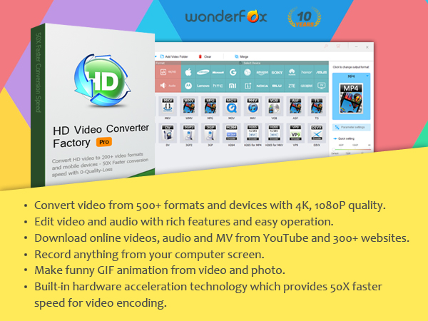 Wonderfox HD video convertor