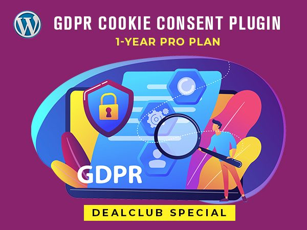 1 Year PRO Plan Of WordPress GDPR Cookie Consent Plugin