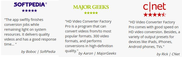 Reviews Of WonderFox HD Converter Factory PRO: