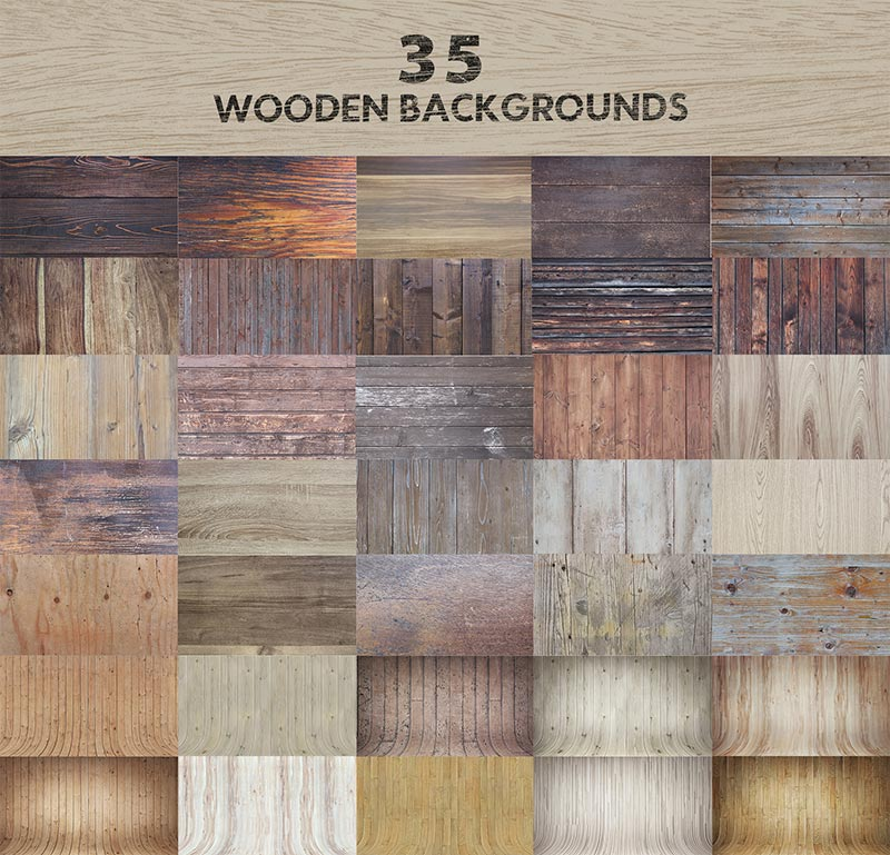 35 Wooden Background Design Previews