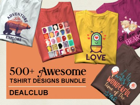 500+ Awesome Tshirt Design Bundle