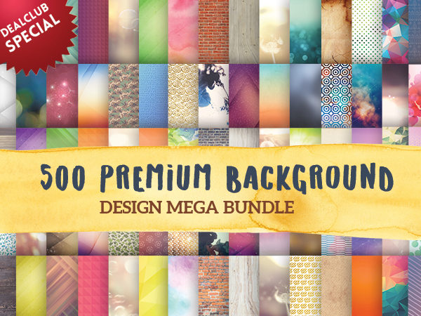 500 premium backgrounds feature image